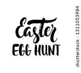 easter egg hunt   spring... | Shutterstock .eps vector #1311053984