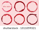 red wine ring stains | Shutterstock .eps vector #1311059321