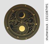 decorative graphic design... | Shutterstock .eps vector #1311087491