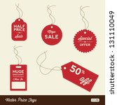 vector sale tags   labels