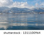 Lake Bodensee Durin Winter With ...