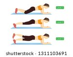 different levels of difficulty... | Shutterstock .eps vector #1311103691