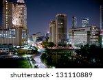 Cityscape Of Jakarta At Night ...