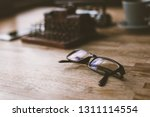concept of plan with vintage... | Shutterstock . vector #1311114554