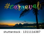 carnival message in elegant... | Shutterstock . vector #1311116387