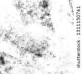 distress grunge halftone pop... | Shutterstock .eps vector #1311150761