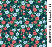 cute floral pattern in the... | Shutterstock .eps vector #1311167411