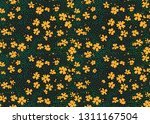 floral pattern. pretty flowers... | Shutterstock .eps vector #1311167504