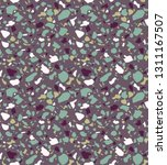 terrazzo seamless pattern.... | Shutterstock .eps vector #1311167507