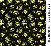 elegant floral pattern in small ... | Shutterstock .eps vector #1311167621