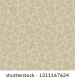 cute floral pattern in the... | Shutterstock .eps vector #1311167624