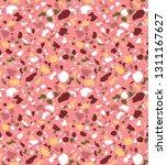 terrazzo seamless pattern.... | Shutterstock .eps vector #1311167627