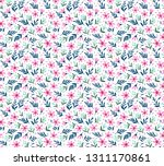 vector seamless pattern. pretty ... | Shutterstock .eps vector #1311170861