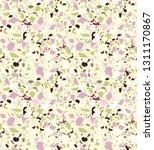terrazzo seamless pattern.... | Shutterstock .eps vector #1311170867