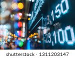 financial stock exchange market ... | Shutterstock . vector #1311203147