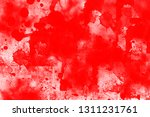 grunge red white color art... | Shutterstock . vector #1311231761