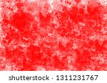 grunge red white color art... | Shutterstock . vector #1311231767