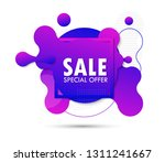 super sale and special offer.... | Shutterstock .eps vector #1311241667