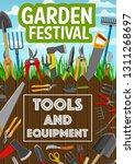gardening  planting or farming...   Shutterstock .eps vector #1311268697
