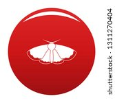 moth icon. simple illustration... | Shutterstock .eps vector #1311270404
