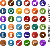 color back flat icon set   well ... | Shutterstock .eps vector #1311298487
