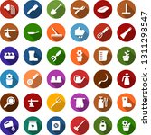 color back flat icon set  ... | Shutterstock .eps vector #1311298547