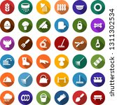color back flat icon set  ... | Shutterstock .eps vector #1311302534