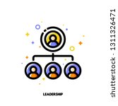 team leadership icon for... | Shutterstock .eps vector #1311326471