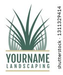 logo for landscaping or... | Shutterstock .eps vector #1311329414