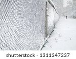 Snow Covered Rabitz Grid With...