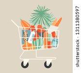vector illustration of full...   Shutterstock .eps vector #1311380597