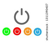 powers vector icon   Shutterstock .eps vector #1311390407