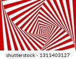 vector optical illusion... | Shutterstock .eps vector #1311403127
