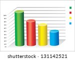 3d business charts | Shutterstock . vector #131142521