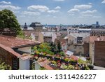 it s a view on the city center...   Shutterstock . vector #1311426227
