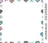 vector. seamless. blank white ... | Shutterstock .eps vector #1311433364