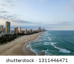 surfers paradise beach on the... | Shutterstock . vector #1311446471