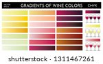 example of gradients of wine... | Shutterstock .eps vector #1311467261