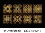 set of decorative elements for... | Shutterstock .eps vector #1311484247