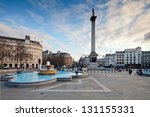 trafalgar square is a public... | Shutterstock . vector #131155331
