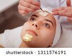 special golden mask. nice... | Shutterstock . vector #1311576191