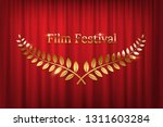 golden shiny award laurel... | Shutterstock .eps vector #1311603284