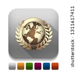 world award icon with long...   Shutterstock .eps vector #1311617411