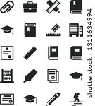 solid black vector icon set  ... | Shutterstock .eps vector #1311634994