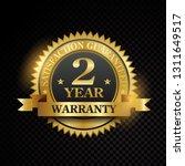 vector one year warranty... | Shutterstock .eps vector #1311649517