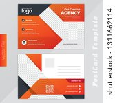 creative agency postcard design ... | Shutterstock .eps vector #1311662114
