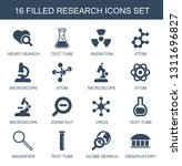 research icons. trendy 16...   Shutterstock .eps vector #1311696827