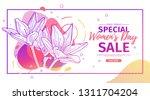 modern template design for 8... | Shutterstock .eps vector #1311704204