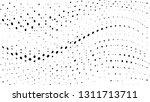halftone gradient pattern.... | Shutterstock .eps vector #1311713711