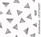 seamless pattern with dotted... | Shutterstock .eps vector #1311716207